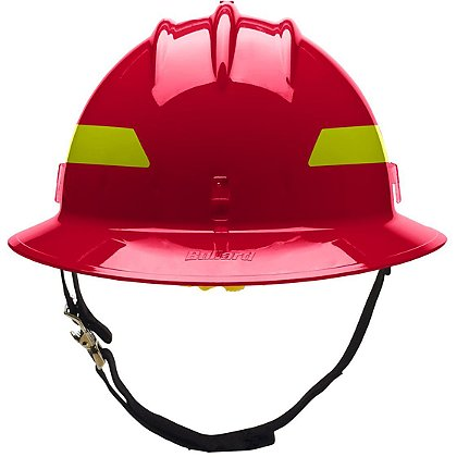 Bullard Thermoplastic Wildfire Full Brim Helmet w/ Pinlock Suspension
