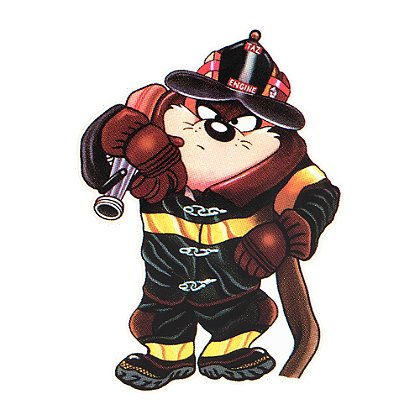 Firehouse Decals Tasmanian Devil Decal