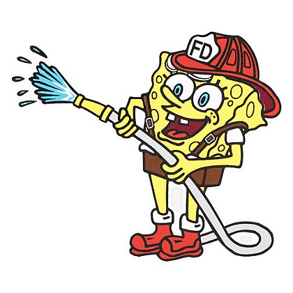Firehouse Decals Sponge Bob Decal