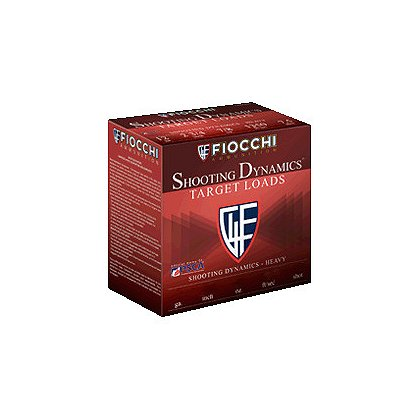 Fiocchi 20 Gauge 7/8oz 2-3/4 in, #8 shot, Box of 25