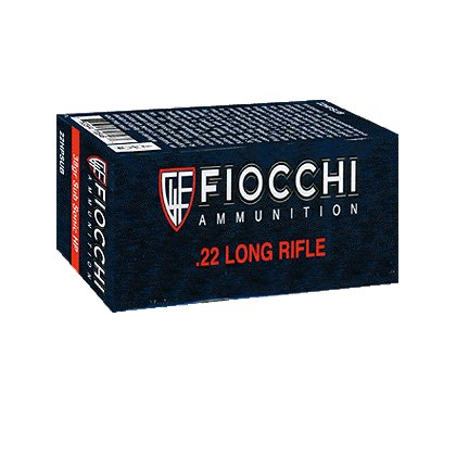 Fiocchi 22LR 40gr HP Ammunition, Case of 5000