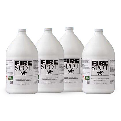Fire Soaps Fire Spot Case of (4) 1 Gallon Bottles
