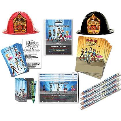 TheFireStore Fire Prevention Fab Five Education Kit