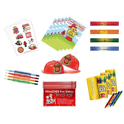 TheFireStore Fire Prevention Station & School  Educational Kit
