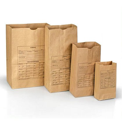 Forensics Source Printed Paper Evidence Bags