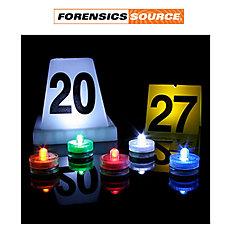 Forensic Source Evi Lites Lighted Evidence Markers 10 Pk