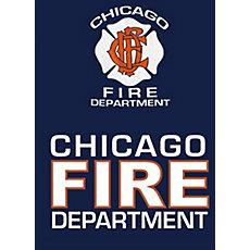 de50b6feb6c Fisher Sportswear Chicago Fire Dept. Hooded Sweatshirt