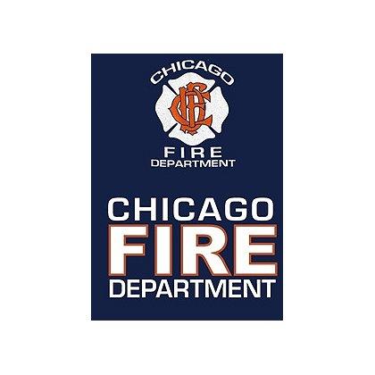 Fisher Sportswear Chicago Fire Dept. Hooded Sweatshirt