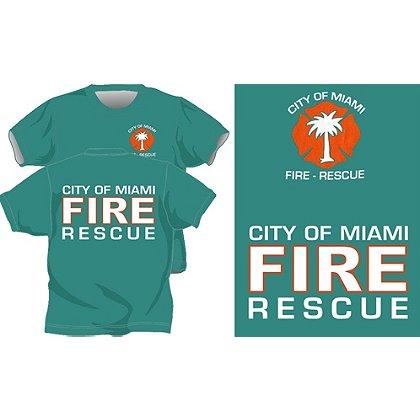 Fisher Sportswear Miami Fire & Rescue Short-Sleeve T-Shirt