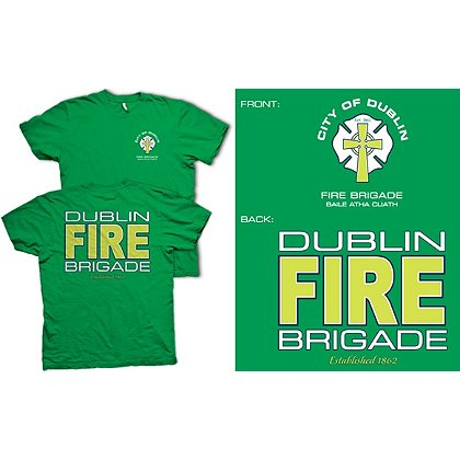 Fisher Sportswear Dublin Fire Brigade Short-Sleeve T-Shirt