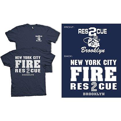 Fisher Sportswear NYC Rescue 2 Brooklyn Short-Sleeve T-Shirt