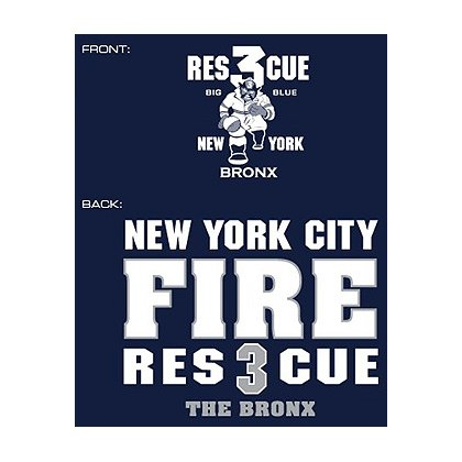 Fisher Sportswear NYC Rescue 3 The Bronx Hooded Sweatshirt