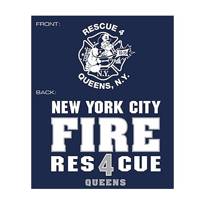 Fisher Sportswear NYC Rescue 4 Queens Hooded Sweatshirt
