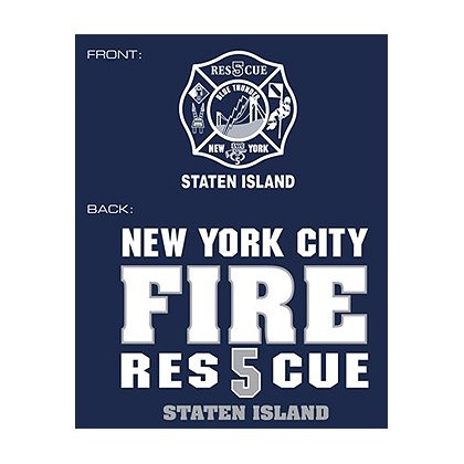 Fisher Sportswear NYC Rescue 5 Staten Island Hooded Sweatshirt