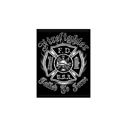 Fisher Sportswear Called To Serve Firefighter Flames Short-Sleeve T-Shirt