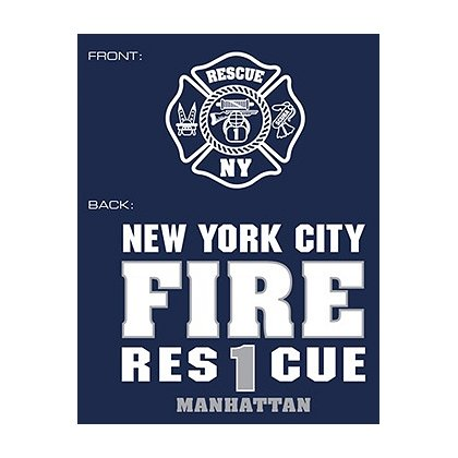 Fisher Sportswear NYC Rescue 1 Hooded Sweatshirt