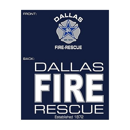Fisher Sportswear Dallas Fire-Rescue Hooded Sweatshirt