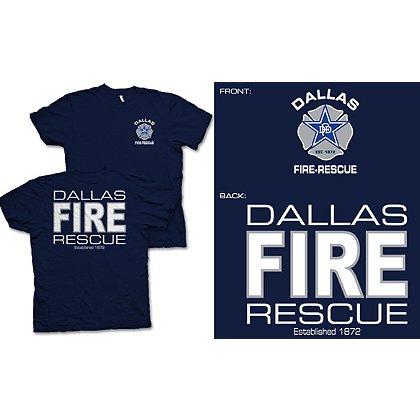 Fisher Sportswear Dallas Fire-Rescue Short-Sleeve T-Shirt