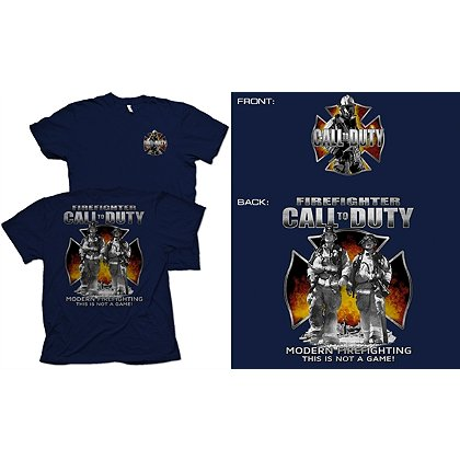 Fisher Sportswear Call To Duty Short-Sleeve T-Shirt