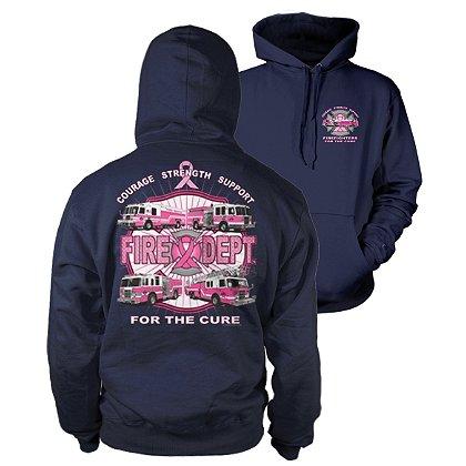 Fisher Sportswear Fire Department For The Cure Hooded Sweatshirt
