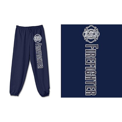 Fisher Sportswear Firefighter Reflective Sweatpants