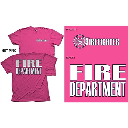 Fisher Sportswear Firefighter Duty Short-Sleeve T-Shirt