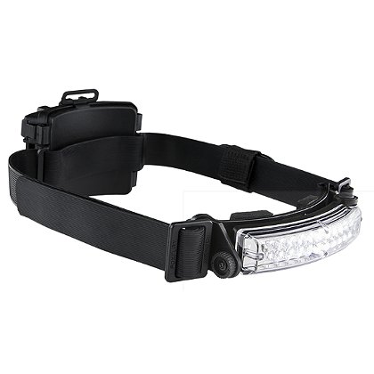 Command+ Tilt White LED Rechargeable Headlamp/Helmet Light