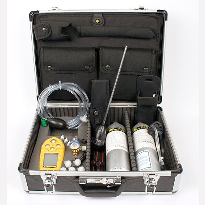 BW Technologies GasAlertMicro 5 Series Deluxe Confined Space Kit