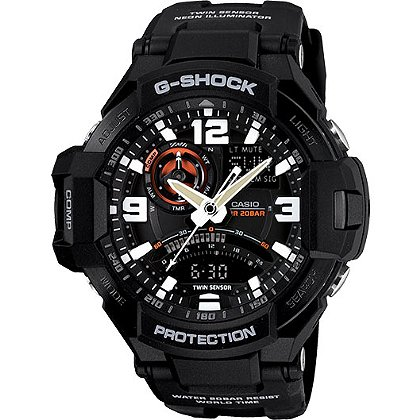 Casio G-Aviation Analog/Digital Watch