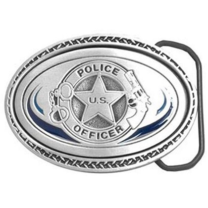 U.S. Police Officer Buckle