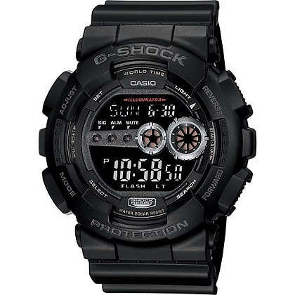 Casio XL Digital G-Shock Watch with Flash Alert