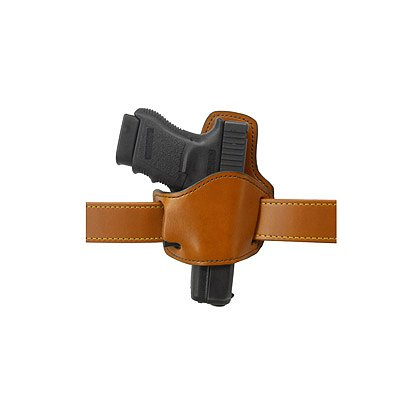 Gould & Goodrich Low Profile Belt Slide Holster w/Removable Flap