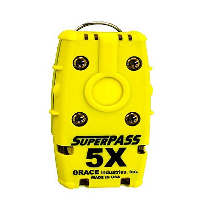 "Grace Industries SuperPass® 5X, Stand-Alone ""PASS"" Personal Alert Safety System"