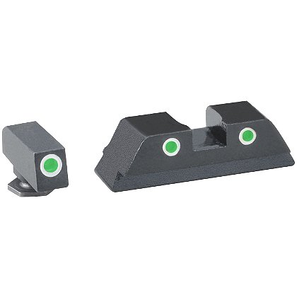 AmeriGlo Classic Style Tritium Night Sights for Glock Pistols