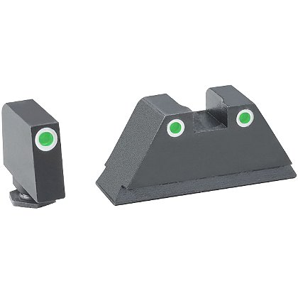 AmeriGlo Suppressor Height Night Sights for Glock Pistols