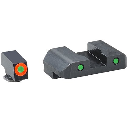 Ameriglo Spartan Operator Sights for Glock 42,43