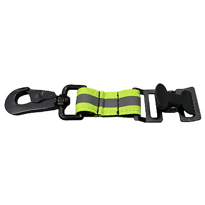 TheFireStore Reflective Green GloveLeash3