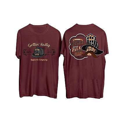 Gettin Salty Apparel If My Helmet Could Talk Short-Sleeve T-Shirt