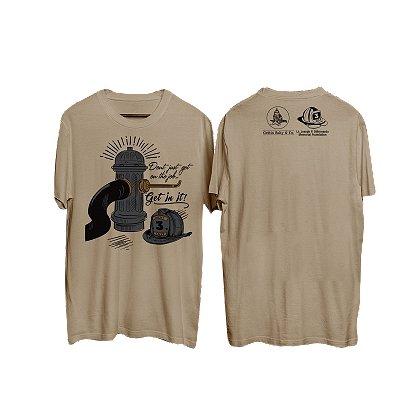 Gettin Salty Apparel Get Into The Job Firefighter Short-Sleeve T-Shirt