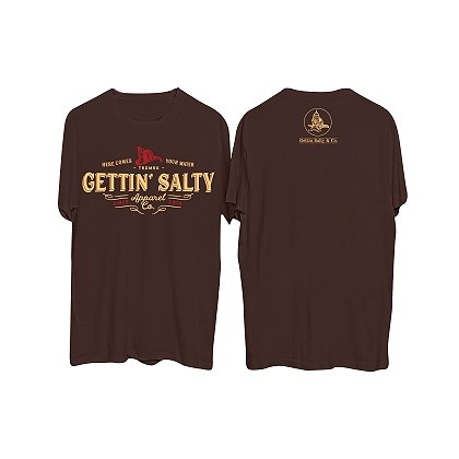 Gettin Salty Apparel Here Comes Your Water Short-Sleeve T-Shirt
