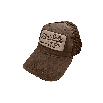 Gettin Salty Apparel Waxed Trucker Hat