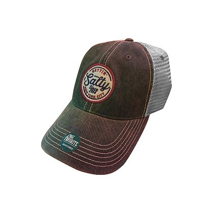 afb7038cac0d2 Gettin Salty Apparel Old Favorite Legacy Trucker Hat
