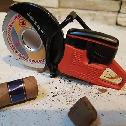 Getting Salty Partner Saw Cigar Cutter