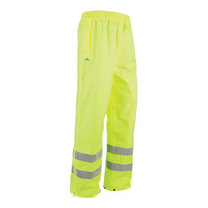 Game Workwear Rain Pant Neon Lime