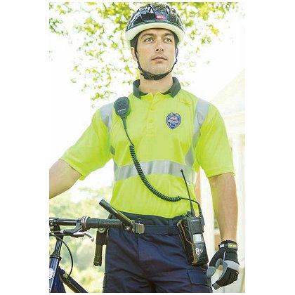 Game Sportswear Patrolman Polo, Neon Lime