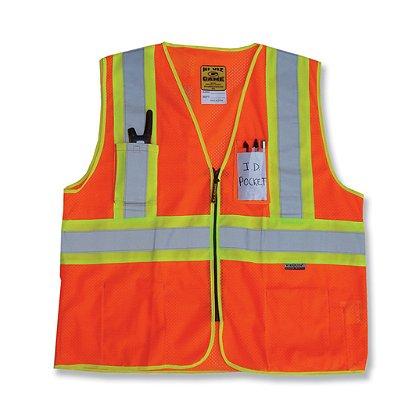 Game Sportswear D.O.T. Mesh Vest w/ Pockets