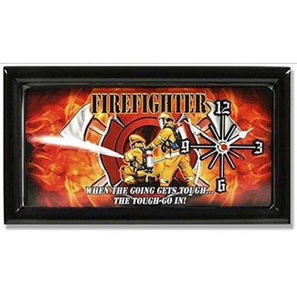 Firefighter Going Gets Tough Clock