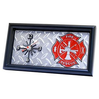 Maltese Cross Fire & Rescue Clock