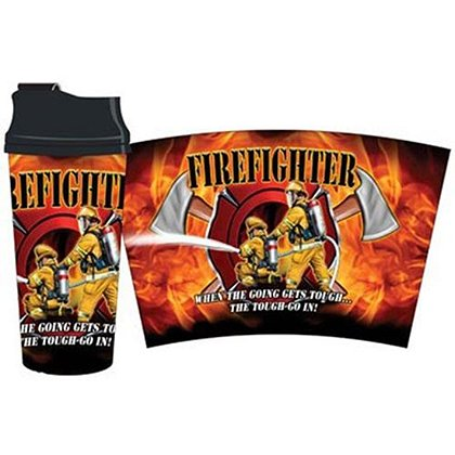 Firefighter Thermal Travel Mug