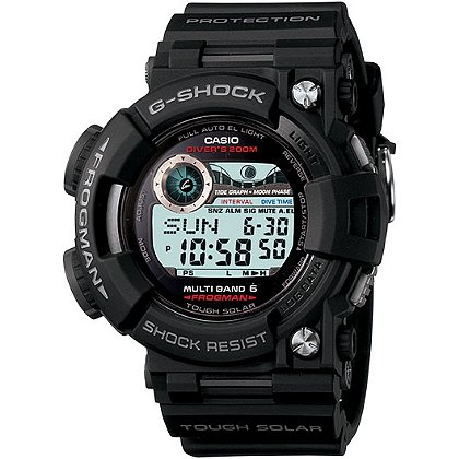 Casio Frogman Solar G-Shock Watch